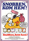 Snoopy Come Home 1972 poster Peanuts Bill Melendez