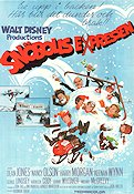 Snowball Express 1974 poster Dean Jones