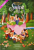 Snow White and the Seven Dwarfs 1937 poster Snövit