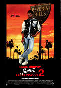 Beverly Hills Cop 2 1987 Movie poster Eddie Murphy
