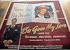 So Goes My Love 1946 Movie poster Myrna Loy