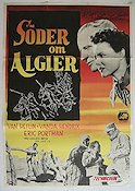 South of Algiers 1953 Movie poster Van Heflin