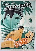 South of Pago Pago 1940 poster Victor McLaglen