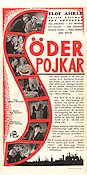 Söderpojkar 1940 Movie poster Elof Ahrle