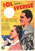 Sol �ver Sverige 1938 Movie poster Rut Holm