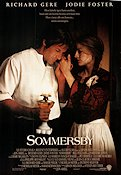 Sommersby 1993 Movie poster Richard Gere
