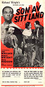 Native Son 1951 poster Jean Wallace Pierre Chenal