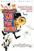 Son of the Pink Panther 1993 poster Roberto Benigni