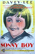 Sonny Boy 1929 Movie poster Davey Lee