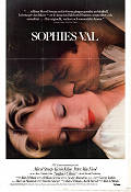 Sophie's Choice 1982 Movie poster Meryl Streep Alan J Pakula