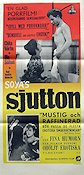 Soyas sjutton 1966 Movie poster Ghita N�rby