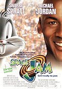 Space Jam 1996 Movie poster Bugs Bunny