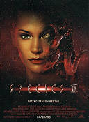 Species 2 1998 Movie poster Natasha Henstridge