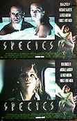 Species 1995 lobby card set Natasha Henstridge Roger Donaldson