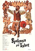 Fiddler on the Roof 1972 poster Topol Norman Jewison