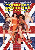 Spice World 1997 Movie poster Spice Girls