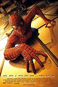 Spider-Man 2002 Movie poster Tobey Maguire Sam Raimi