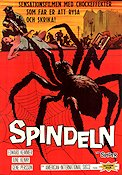 Earth vs the Spider 1961 Movie poster Ed Kemmer Bert I Gordon