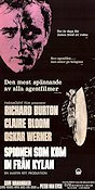 The Spy Who Came in From the Cold 1966 Movie poster Richard Burton
