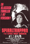 The Spiral Staircase 1975 Movie poster Jacqueline Bisset