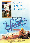 Splash 1984 Movie poster Tom Hanks