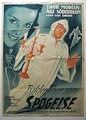 Sp�kreportern 1941 Movie poster �ke S�derblom