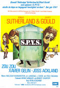 S.P.Y.S 1974 Movie poster Donald Sutherland