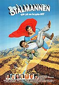 Superman 3 1983 poster Christopher Reeve