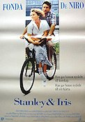 Stanley and Iris 1990 Movie poster Jane Fonda