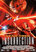 Star Trek Insurrection 1998 Movie poster Patrick Stewart