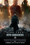 Star Trek Into Darkness 2013 poster Chris Pine JJ Abrams