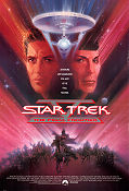 Star Trek the Final Frontier 1989 poster William Shatner