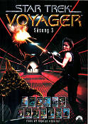 Star Trek Voyager VHS 1995 poster Kate Mulgrew