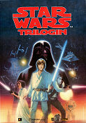 Star Wars Trilogin 1995 Movie poster Mark Hamill George Lucas