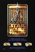 Star Wars Trilogy Poster 68x102cm USA RO original