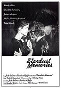 Stardust Memories 1980 Movie poster Charlotte Rampling Woody Allen