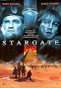 Stargate 1994 Movie poster Kurt Russell