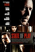 State of Play 2009 Movie poster Russell Crowe