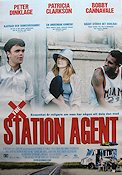 The Station Agent 2003 Movie poster Peter Dinklage