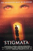 Stigmata 1999 Movie poster Patricia Arquette
