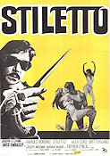 Stiletto 1969 Movie poster Harold Robbins