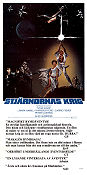 Star Wars 1977 Movie poster Mark Hamill George Lucas