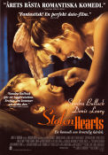 Stolen Hearts 1996 Movie poster Sandra Bullock