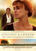 Pride and prejudice 2005 Movie poster Keira Knightley Joe Wright