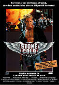 Stone Cold 1991 Movie poster Brian Bosworth Craig R Baxley