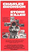 The Stone Killer 1973 Movie poster Charles Bronson
