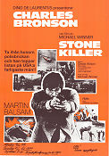 The Stone Killer 1973 poster Charles Bronson Michael Winner