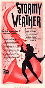 Stormy Weather 1944 poster Lena Horne Andrew Stone