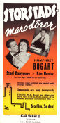 Deadline USA 1952 movie poster Humphrey Bogart