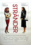 Beaches 1988 poster Bette Midler